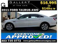 2011 Ford Taurus SEL AWD $149 bi-weekly APPLY NOW DRIVE NOW