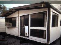 Chalet Style Static Caravan 8.5M x 6M