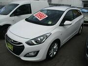 2013 Hyundai i30 GD Active Tourer White 6 Speed Sports Automatic Wagon Broadmeadow Newcastle Area Preview