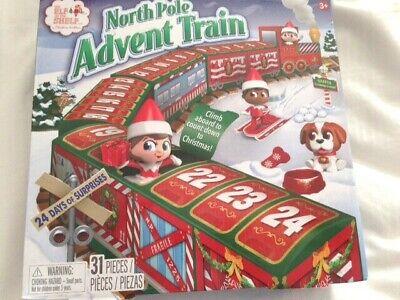 The Elf On The Shelf North Pole Advent Calendar 2020 Train BRAND NEW