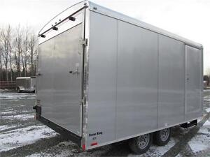 JUST ARRIVED SNOWMOBILE TRAILER WITH TRANSPORT DAMAGE Prince George British Columbia image 3
