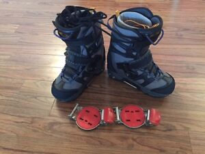 Boots and binding Vans Switch