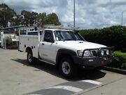 2011 Nissan Patrol GU 7 MY10 DX White 5 Speed Manual Wagon Acacia Ridge Brisbane South West Preview