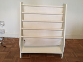 Sling Bookcase from Great Little Trading Company in White