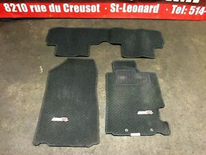 JDM ACURA RSX DC5 TYPE-R BLACK FLOOR MATS CARPET FOR SALE