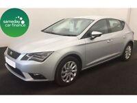 SEAT Leon TDi SE Technology 5dr (silver) 2013