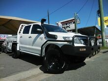 2012 Toyota Hilux KUN26R SR White 5 Speed Manual Dual Cab Southport Gold Coast City Preview