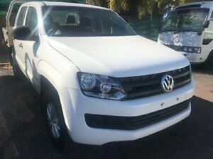 2015 Volkswagen Amarok 2H MY15 TDI420 4MOTION Perm Core White 8 Speed Automatic Cab Chassis Winnellie Darwin City Preview