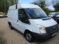 2013 Ford Transit 2.2TDCi SWB MEDIUM ROOF NO VAT 100000 GUARANTEED MILES