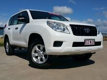 2013 Toyota Landcruiser Prado KDJ150R MY14 GX White 5 Speed Sports Automatic Wagon Garbutt Townsville City Preview