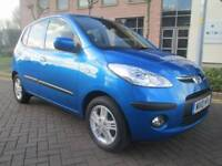 Hyundai I10 1.2 Comfort 5dr Good / Bad Credit Car Finance (blue) 2010