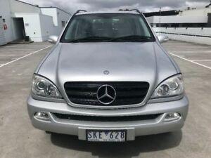 2003 Mercedes-Benz ML350 W163 MY04 Luxury Silver 5 Speed Sports Automatic Wagon