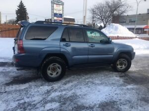Toyota 4 Runner Limited 4.7L  all service record