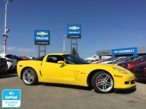 2007 Chevrolet Corvette Z06 Manual 505HP (Nav, Heated Seats)
