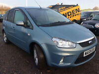 2009 Ford C-MAX 1.6 16v ALLOYS, TINTS, PARK SENSORS, **BUY FOR ONLY £24 A WEEK**