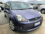 2007 Ford Fiesta WQ Zetec Purple 4 Speed Automatic Hatchback Officer Cardinia Area Preview