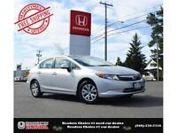 2012 Honda Civic LX, Ipod Jack, Only 64000kms !!
