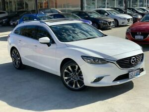 2017 Mazda 6 GL1031 GT SKYACTIV-Drive White 6 Speed Sports Automatic Wagon Palmyra Melville Area Preview