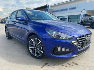 2020 Hyundai i30 PD.V4 MY21 Elite Blue 6 Speed Sports Automatic Hatchback Muswellbrook Muswellbrook Area Preview