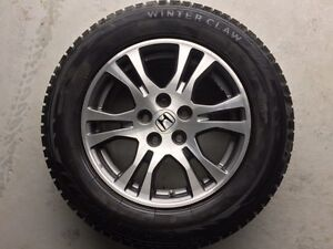 Honda Odyssey OEM Mags with 235/65/17 Tires