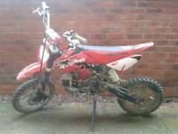 125cc pitbike £295 ONO TO DAY