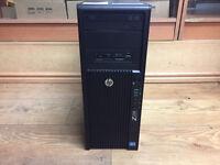 HP Workstation Z220 Xeon CPU E3-1225 V2 3.20Ghz 16GB Ram 1TB HDD HDMI Win 7 PC