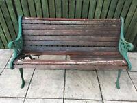 Garden Bench Easy restoration project