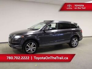 2011 Audi Q7 PREMIUM; AWD, PANORAMIC SUNROOF, LEATHER, NAV, 7 P