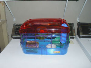 Real nice hamster cage with accessories
