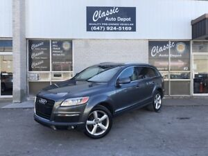 2007 AUDI Q7 **S-LINE*6 PASSENGER**PANORAMIC ROOF**REAR AIR** Pr