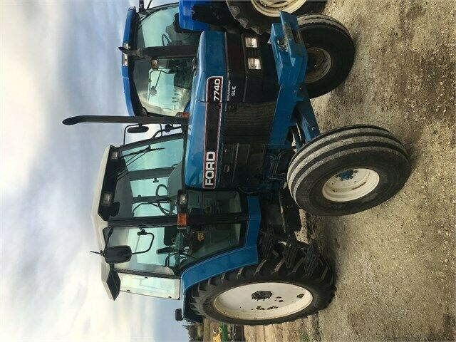 Used Tires Barrie >> Ford 7740 SLE Tractor | Farming Equipment | Barrie | Kijiji