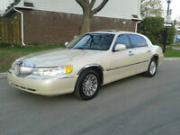 2002 Lincoln Town Car Cartier Premium-A-1 CONDITION-150,000KM