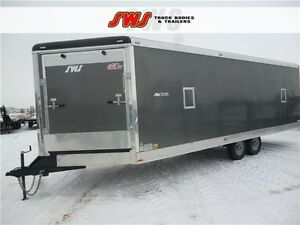 NEW 8.5X28' Snow Bird Trailers