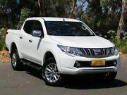 2015 Mitsubishi Triton MQ MY16 GLS Double Cab White 5 Speed Sports Automatic Utility Melrose Park Mitcham Area Preview