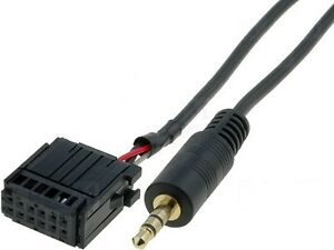 adaptateur autoradio ford fiesta focus fusion cable aux in mp3 ebay. Black Bedroom Furniture Sets. Home Design Ideas