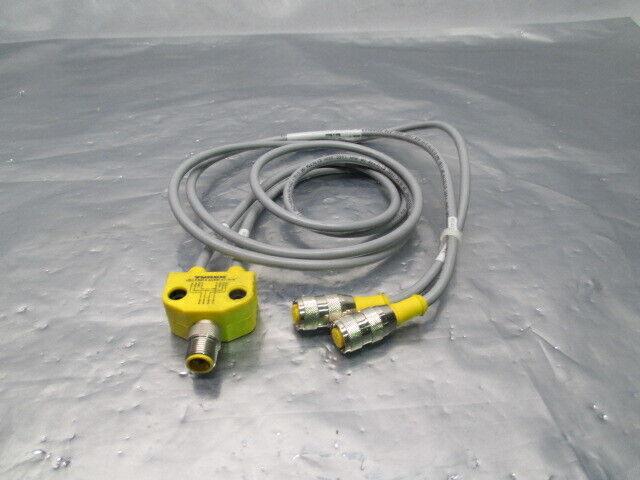 Turck VB2-FSM 4.4/2RK 4t-*/* Cordset Sensor Splitter, 453867