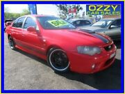 2005 Ford Falcon BA MkII XR8 Red 4 Speed Auto Seq Sportshift Sedan Minto Campbelltown Area Preview