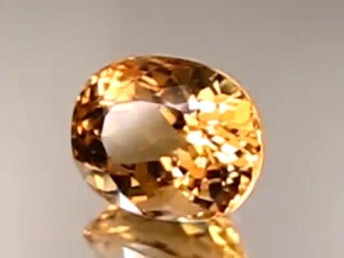 5.18 CT NATURAL HELIODOR GOLDEN YELLOW BERYL RARE EARTH MINE STONE