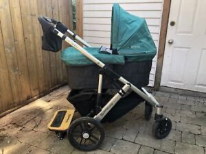 Uppa baby Vista stroller with rumble seat and board