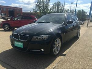 2012 BMW 320d E91 MY11 Lifestyle Touring Steptronic Black 6 Speed Sports Automatic Wagon Fyshwick South Canberra Preview