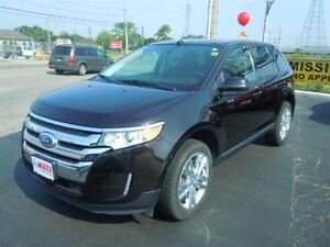 2014 FORD EDGE SEL- SUNROOF, NAVIGATION SYSTEM, LEATHER HEATED S