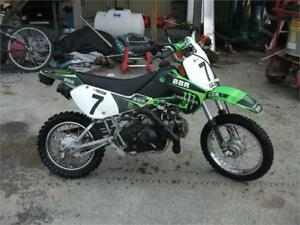 Used 2005 Kids Kawasaki KLX 110 for only $1,500.00!