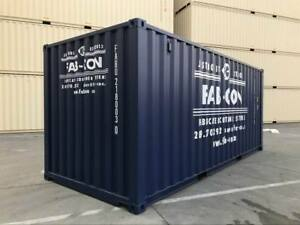 Steel Shipping Containers - New & Used Condition for Sale & Rent