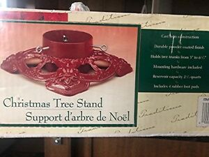 HD tree stand.