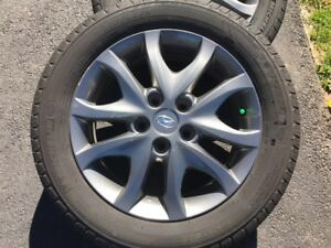 Alloy Rims and Michelin Tires P205/55R16