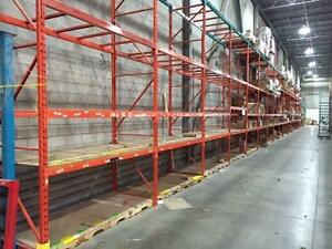REDIRACK, INTERLAKE USED PALLET RACKING FOR SALE