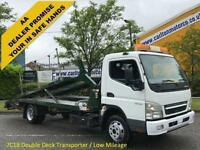2009/ 59 Mitsubishi Canter 7C18 Double Deck Transporter Low Miles GVW 7500kgs