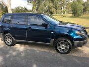 2003 Mitsubishi Outlander ZE XLS Blue 4 Speed Auto Sports Mode Wagon Rocklea Brisbane South West Preview