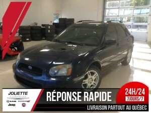 2005 Subaru Impreza 2.5 RS, AWD, MANUELLE, A/C, MAG, HITCH