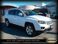 2014 Jeep Compass North 4X4 LOW, LOW KMS!